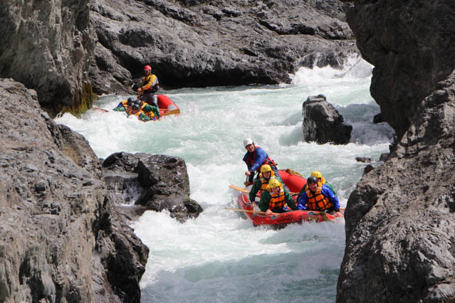 Waiau Raft 3 Day Adventure
